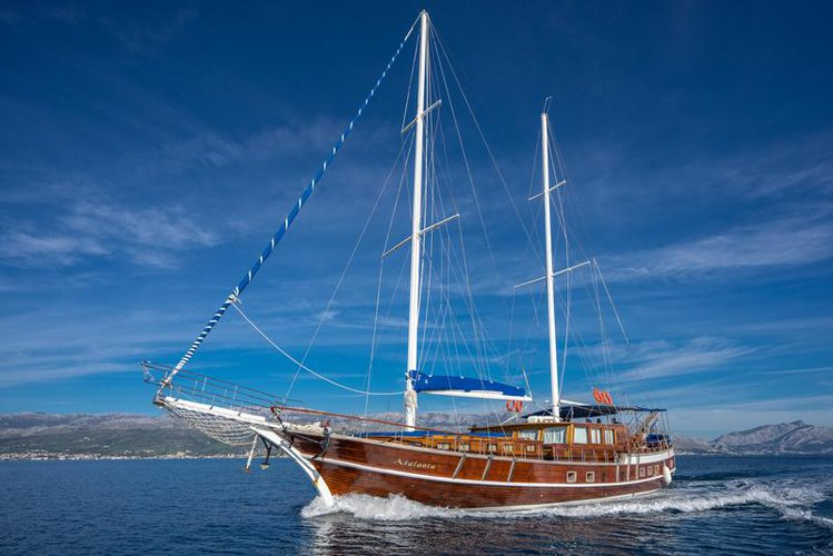 Sail the beautiful waters of Split region on this cozy Unknown MSY Atalanta