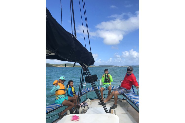 Boating is fun with a Schooner in Fajardo