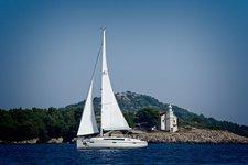Discover Šibenik region in style boating on this sailboat rental