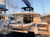 Sail Split region, HR waters on a beautiful Lagoon-Bénéteau Lagoon 50