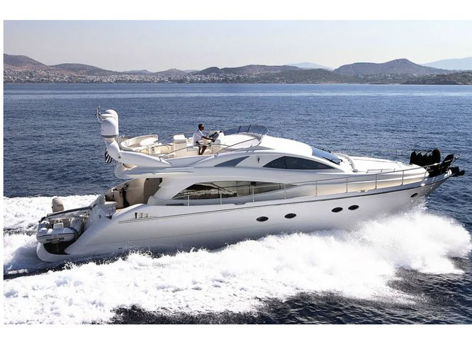 Climb aboard this Aicon Aicon 54s for an unforgettable experience