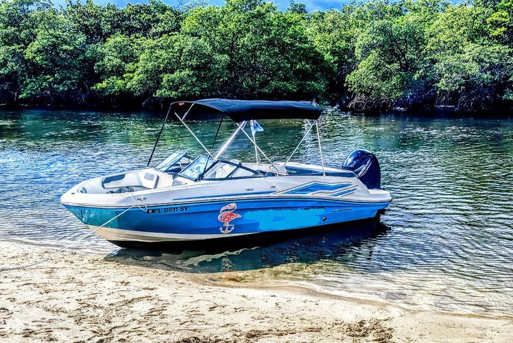 New charter -  boat rental with gas + parking + ice & water included