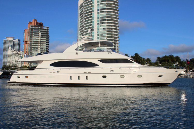 Motor yacht boat for rent in Fort Lauderdale