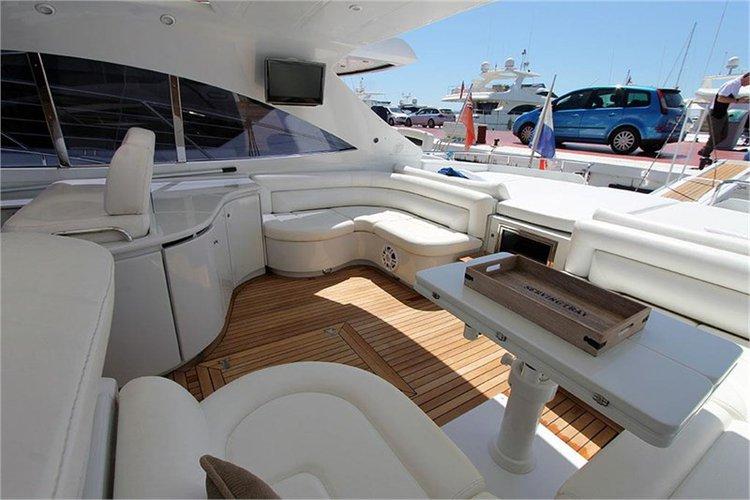 Boat for rent Pershing 17.73 feet in Marina Ibiza, Spain