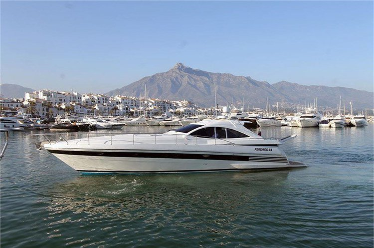 Motor yacht boat for rent in ibiza
