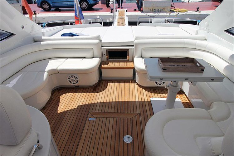 Motor yacht boat rental in Marina Ibiza, Spain
