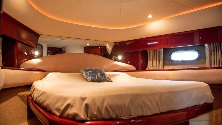 Discover Ayia Napa surroundings on this 61 Princess boat