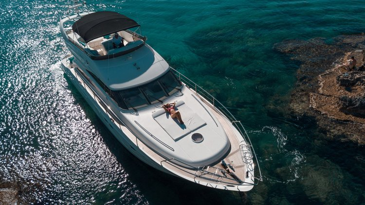 Motor yacht boat for rent in Ayia Napa