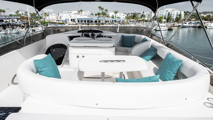 Boat for rent Princess 61.0 feet in Ayia Napa Harbour, Cyprus