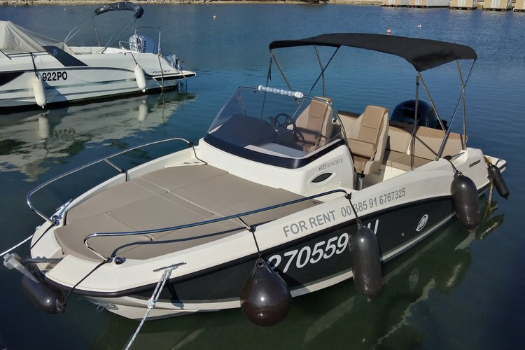 Boat for rent Quicksilver 21.0 feet in Marina Tehnomont Veruda, Pula, Croatia
