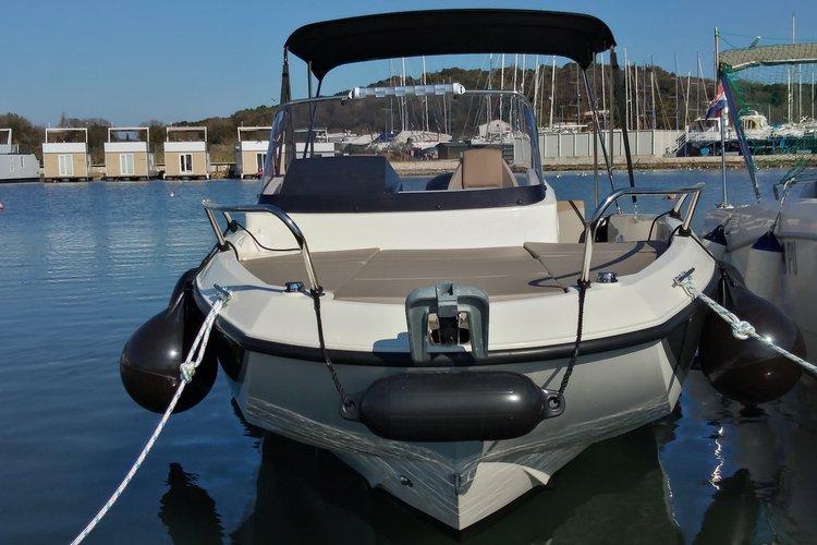 Boat rental in Istra,