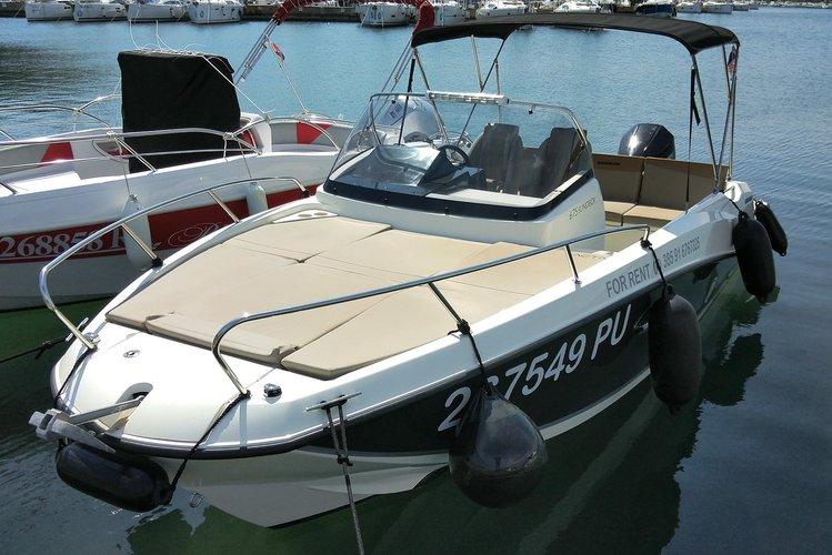 Boat rental in Pula,