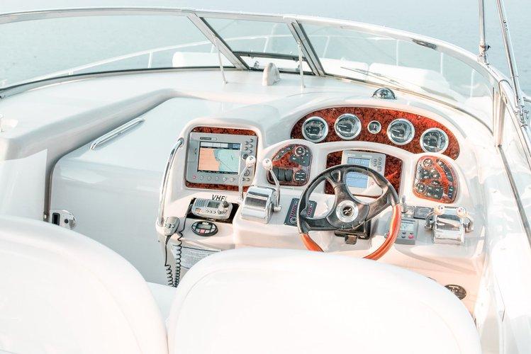 Discover Ayia Napa surroundings on this 375 Sea Ray boat