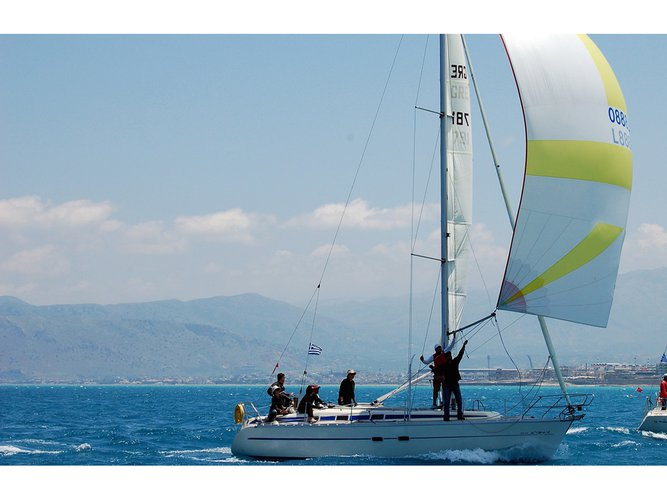 Enjoy luxury and comfort on this Heraklion sailboat charter