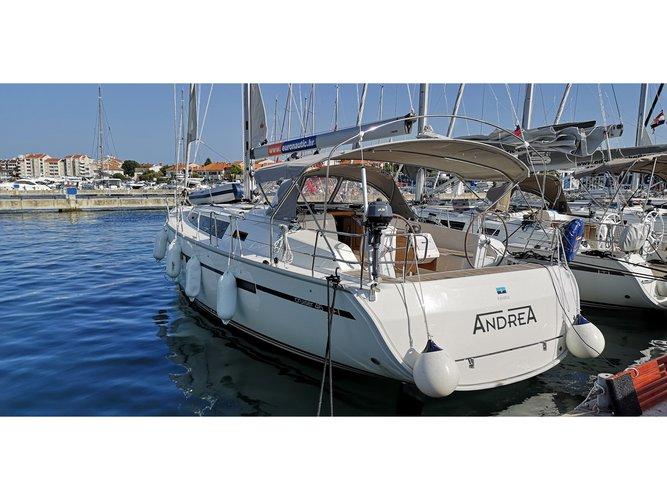 Enjoy luxury and comfort on this Bavaria Yachtbau Bavaria Cruiser 46 in Pirovac