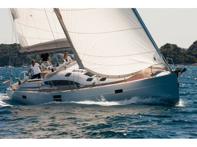 Get on the water and enjoy Pirovac in style on our Elan Elan 50 Impression