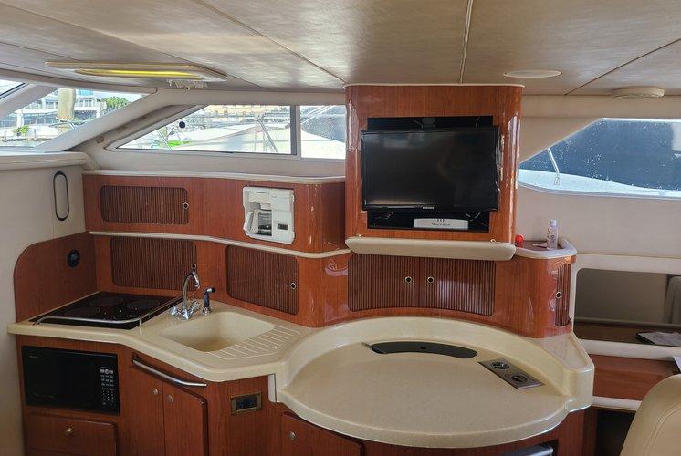 Flybridge boat rental in Epic Marina, FL