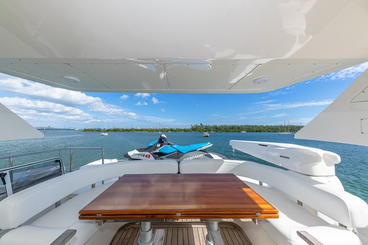 Boat for rent Aicon 75.0 feet in Harbor West Marina, FL