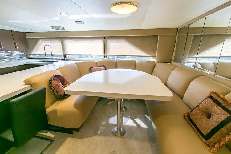 Motor yacht boat rental in Harbor West Marina, FL