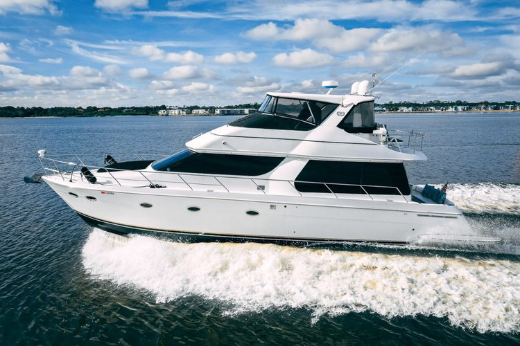 Carver 53 - Sail South Florida's Waterways on a Yacht