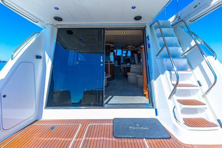 Boating is fun with a Motor yacht in North Bay Village