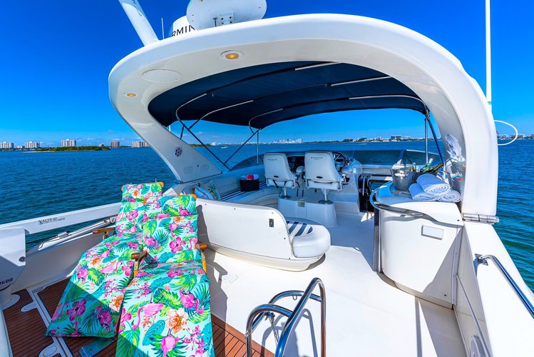 Motor yacht boat for rent in North Bay Village