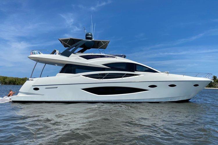 Boat for rent NuMarine 75.0 feet in West Palm Beach City Dock, FL