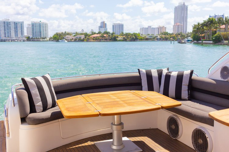 Boating is fun with a Sunseeker in Miami Beach