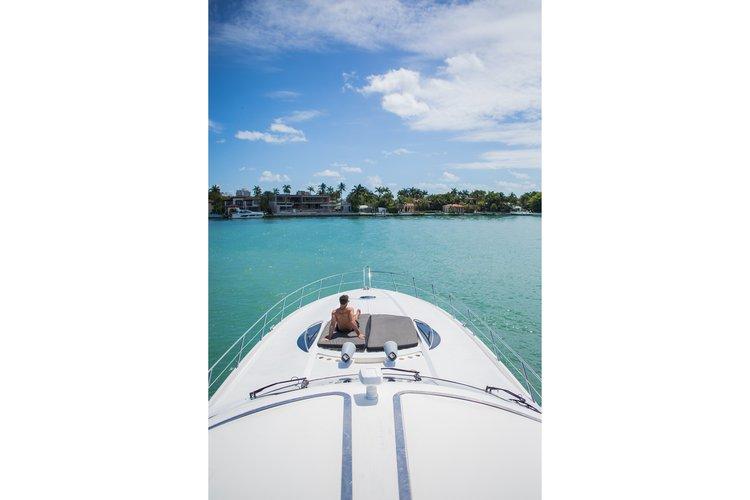 Sunseeker's 75.0 feet in Miami Beach