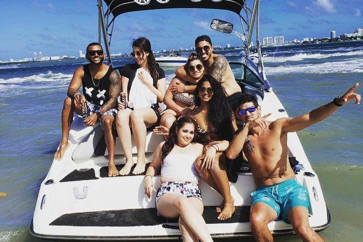 Boating in Miami!