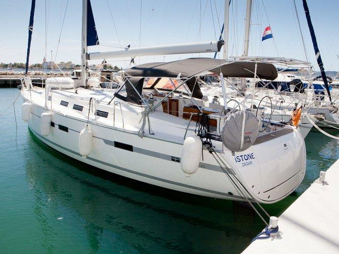 Rent this Bavaria Yachtbau Bavaria Cruiser 45 for a true nautical adventure