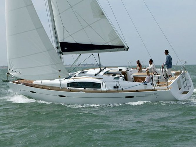 Climb aboard this Beneteau Oceanis 40 for an unforgettable experience