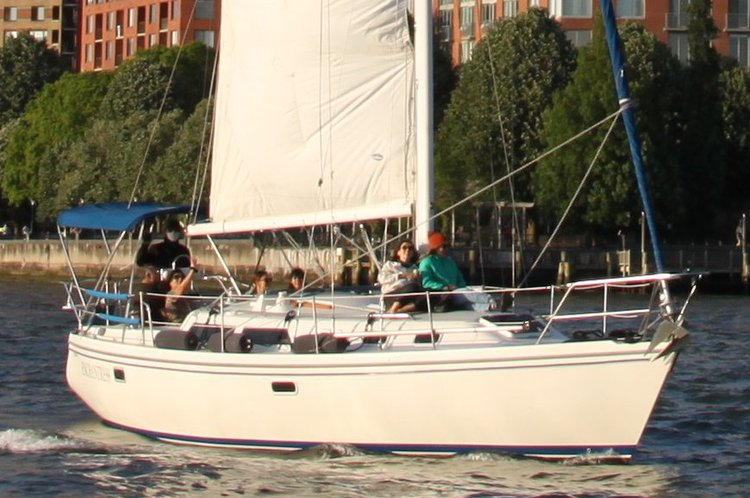 34.0 feet Catalina in great shape