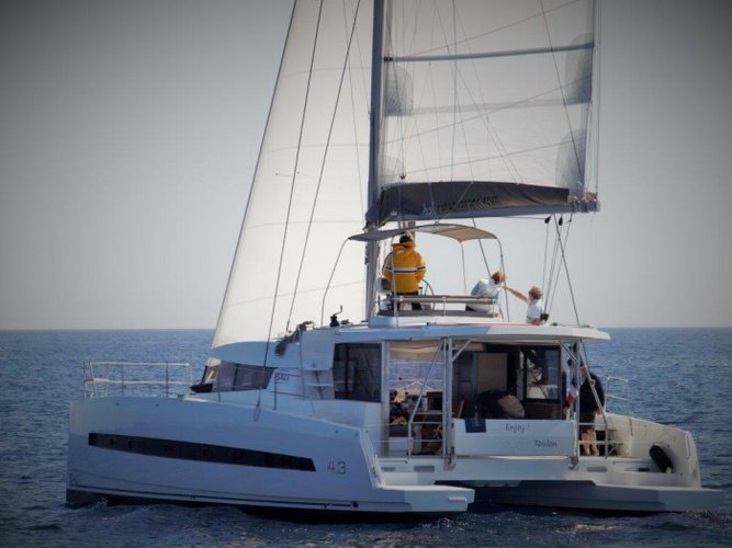 Take this Catana Bali 4.3 for a spin!