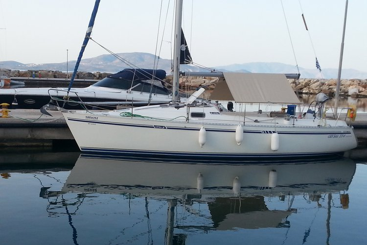 This boat  is available to Charter from her base in Crete  Greece