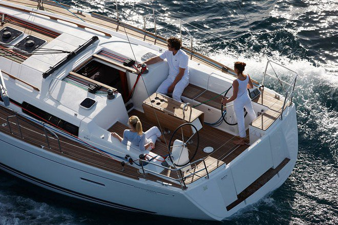 Boat for rent Dufour 40.0 feet in Compass Point marina, U.S. Virgin Islands