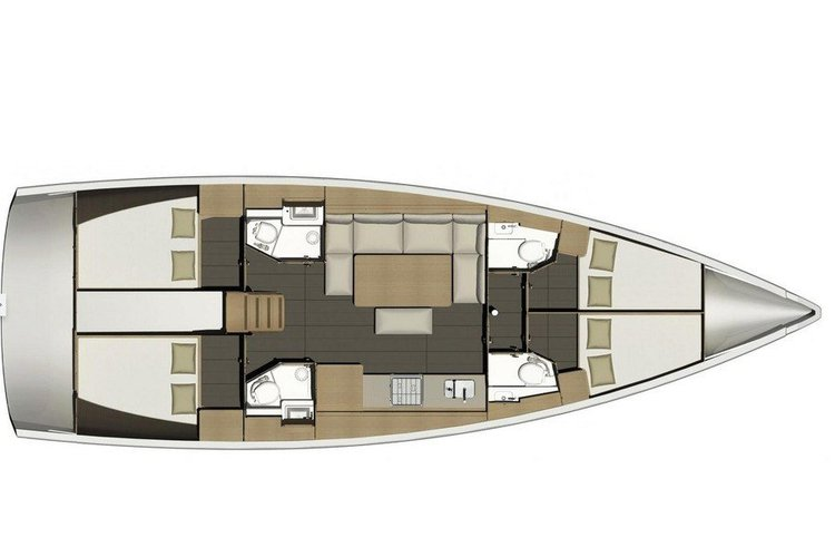 Boat for rent Dufour 46.0 feet in Compass Point marina, U.S. Virgin Islands