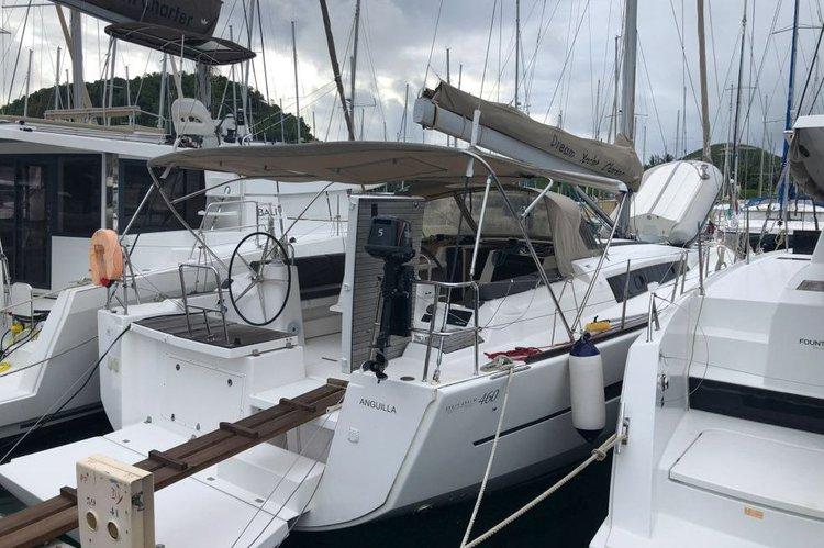 Dufour's 46.0 feet in Charlotte Amalie