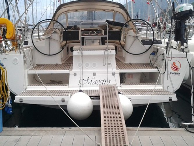 Rent this Dufour Yachts Dufour 500 GL for a true nautical adventure