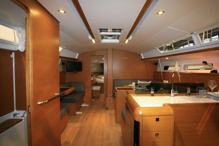 Rent this Jeanneau JEANNEAU SO 439 for a true nautical adventure
