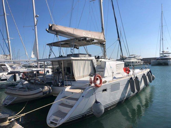 Rent this Lagoon Lagoon 440 for a true nautical adventure