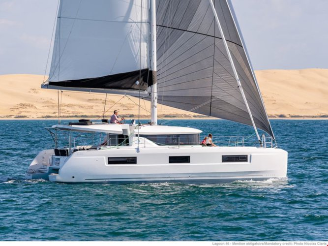 Unique experience on this beautiful Lagoon Lagoon 46