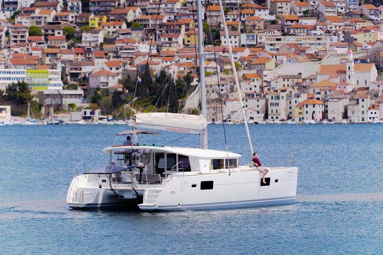 Boat for rent Lagoon-Bénéteau 39.0 feet in Marina Mandalina, Sibenik, Croatia