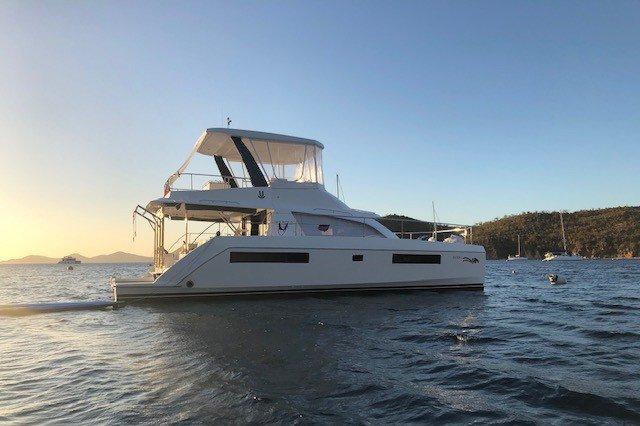 Boat for rent Leopard 43.0 feet in Compass Point marina, U.S. Virgin Islands