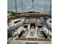 Sail the beautiful waters of Pula on this cozy Dufour Yachts Dufour 360 Grand Large