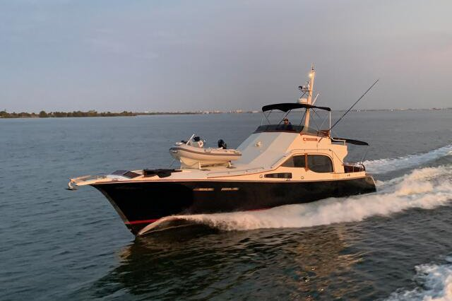 Cruise in style on a rare 52 foot custom yacht!