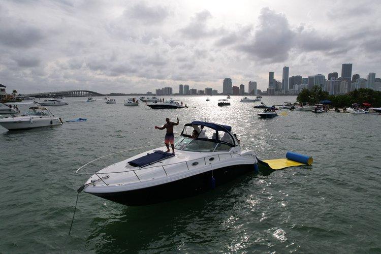SEARAY's 40.0 feet in Miami
