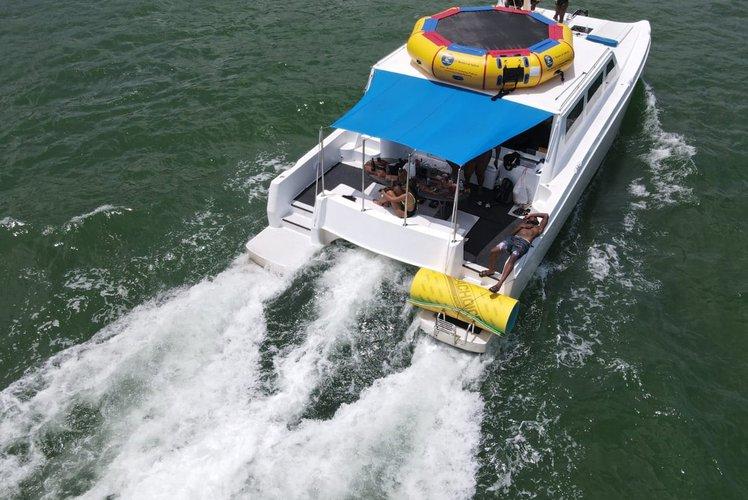 Mega yacht boat rental in 4835 Collins Ave, Miami Beach, FL 33140,