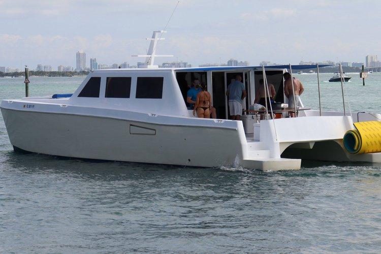 Boat for rent CATAMARAN 46.0 feet in 4835 Collins Ave, Miami Beach, FL 33140,