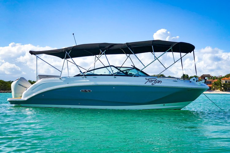 Boating is fun with a Sea Ray in Puerto